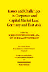 "Zum Artikel ""Issues and Challenges in Corporate and Capital Market Law: Germany and East Asia"""